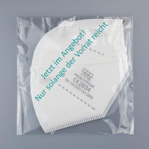 9450B FFP2 NR Atemschutzmasken mit Ohrenband