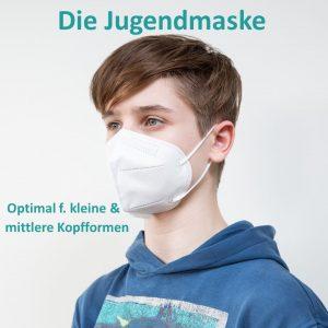C2 FFP2 NR Atemschutzmasken mit Ohrenband