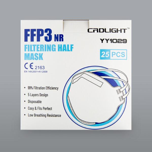 FFP3 NR CRDLIGHT Verpackung25Stk 2