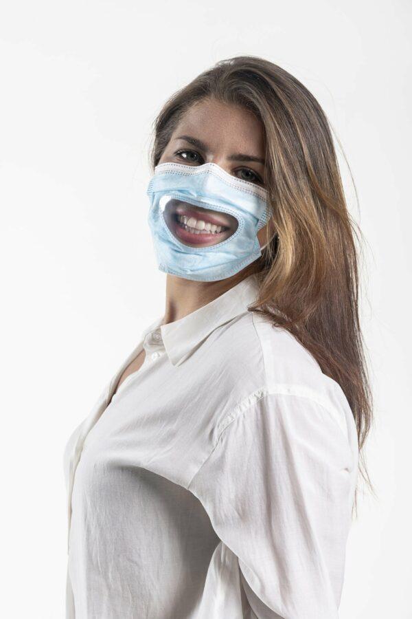 Transparente Medizinische Gesichtsmaske